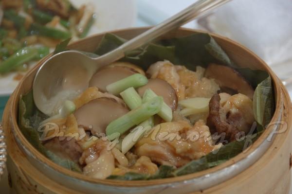 帝苑軒 -- 荷香魚肚蒸滑雞