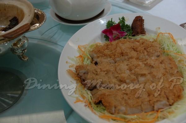 帝苑軒 -- 荔芋香酥鴨
