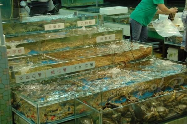 三聖 -- 分門別類的海鮮