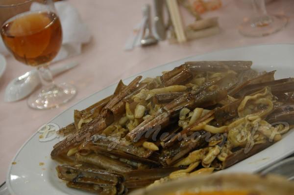 容龍海鮮酒家 -- 豉汁炒蟶子