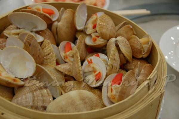 容龍海鮮酒家 -- 清蒸花蛤