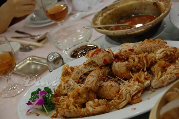 容龍海鮮酒家 -- 椒鹽蝦蛄