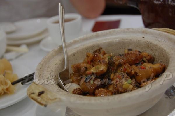 西苑 -- 乾炒豆豉雞