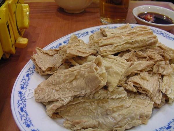 坤記煲仔小菜 -- 腐皮