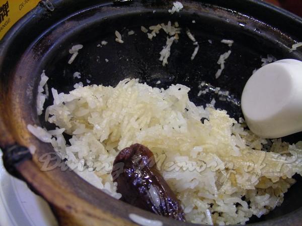 坤記煲仔小菜 -- 鍋巴