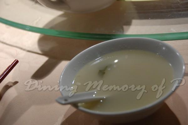 新斗記 -- 杏汁白菜豬肺湯