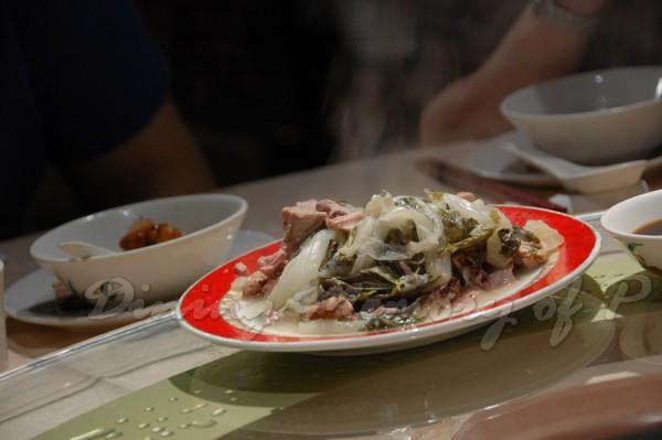 新斗記 -- 杏汁白菜豬肺湯 (湯渣)