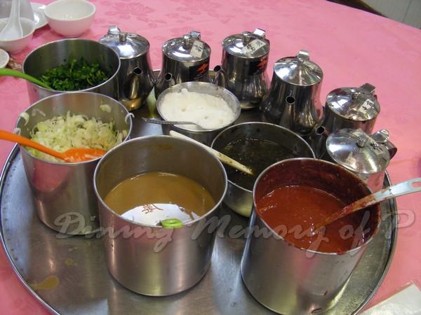 泰豐廔 -- 醬料