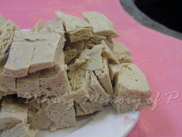 泰豐廔 -- 凍豆腐