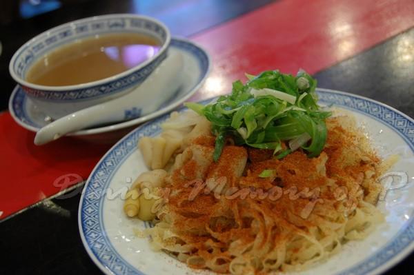 楊記麵家 -- 蝦籽鵝腸撈粗麵