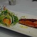 Maison -- 烤鮭魚青菜沙拉