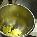 十二月 -- 把奶油放到大碗中