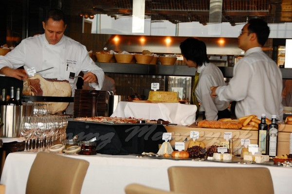 SPOON -- Sunday Bruhcn Buffet Table