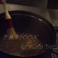 一月 -- 以掃子把鍋邊的精華抹下來