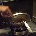 一月 -- 把牛肉內的醬汁壓榨出來