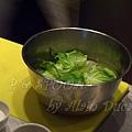 一月 -- 把奶油蒿苣洗淨