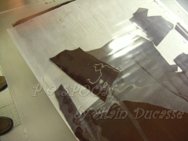 一月 -- 巧克力薄片