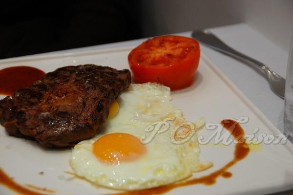 Maison -- 牛排煎蛋 (Steak & Egg)