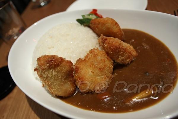 Panda -- 咖喱扇貝飯