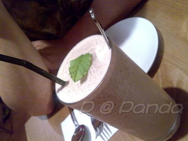 Panda -- 榛果咖啡冰沙