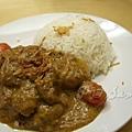 舢舨 -- 勿沙文咖喱豬頸肉飯