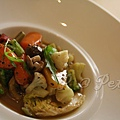 Petrus -- 黑松露燴蔬菜 (2)