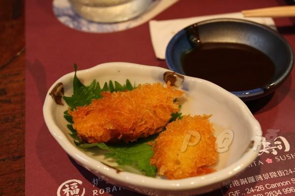 福 爐端燒と牡蠣処 -- 炸牡蠣