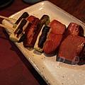福 爐端燒と牡蠣処 -- 燻鴨胸