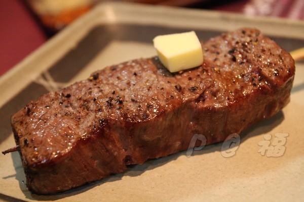 福 爐端燒と牡蠣処 -- 和牛 (1)