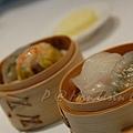 Mandarin Grill & Bar -- 素餃 & 蝦餃
