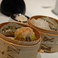 Mandarin Grill & Bar -- 素餃 & 燒賣