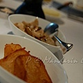 Mandarin Grill & Bar -- 烤馬鈴薯 & 炒蘑菇