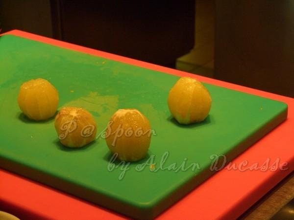 三月 -- 檸檬果肉