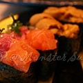 Monster Sushi -- 鮭魚鮪腹軍艦卷