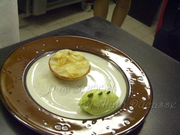 四月 -- 梨子塔伴開心果冰淇淋 (1)