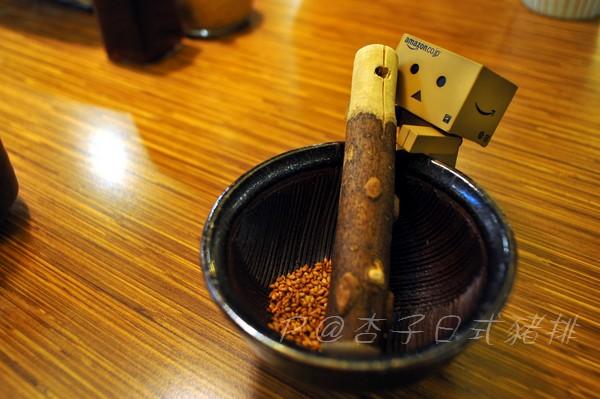 杏子日式豬排 - 芝麻磨砵
