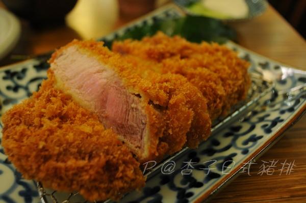 杏子日式豬排 -- Toro黑豚里肌豬排