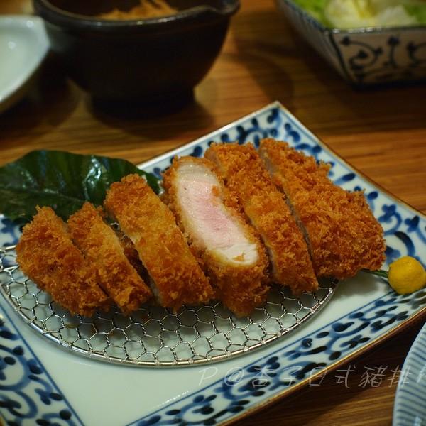 杏子日式豬排 -- 黑豚里肌豬排