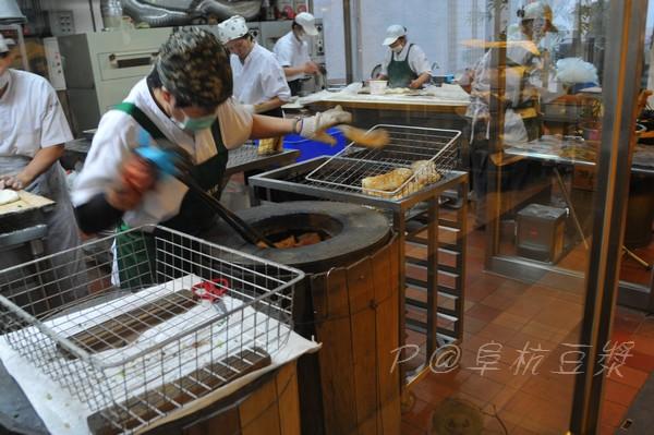 阜杭豆漿 - 烤餅中
