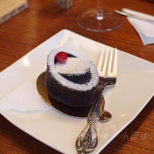 咖啡.小自由 - 法式經典巧克力蛋糕