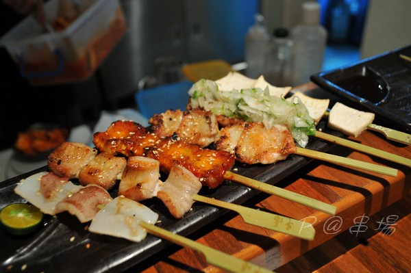 串場 - 串燒盛合
