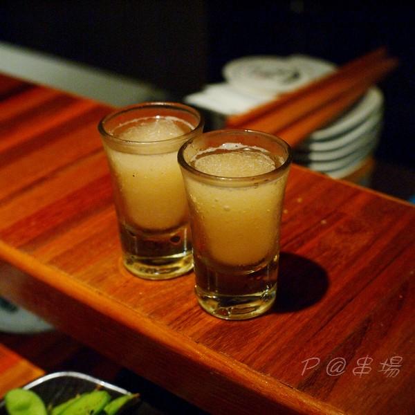 串場 - 蘋果醋冰沙