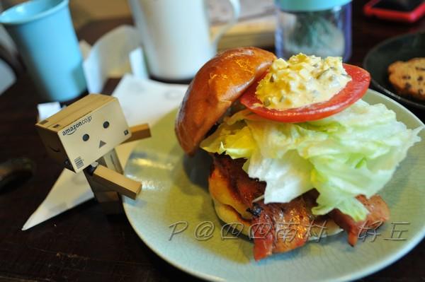 好丘 - 厚切培根漢堡