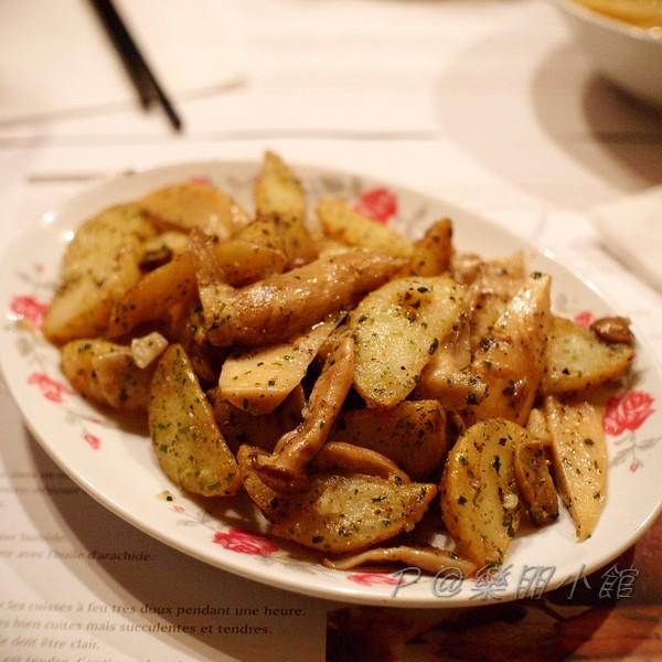 樂朋小館 - 法式嫩煎馬鈴薯佐菌菇