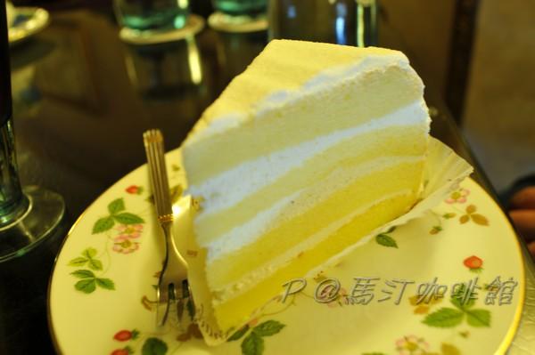 馬汀咖啡館 - 奶油香草蛋糕