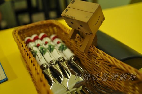 法蕾薄餅屋 - 餐具