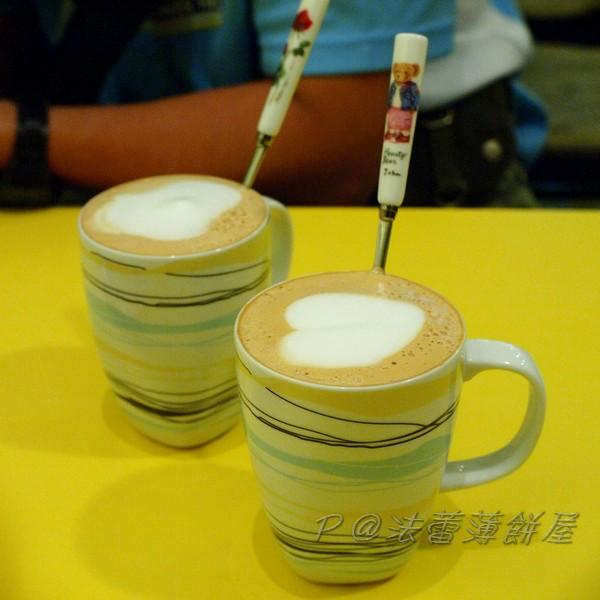 法蕾薄餅屋 - 杏仁咖啡 & 橘香咖啡