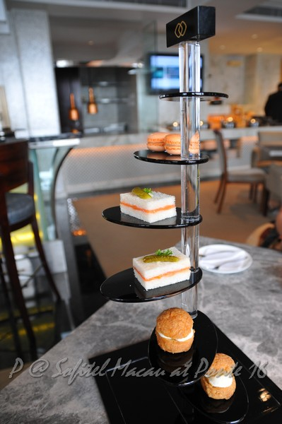索菲特十六浦酒店 -- 行政樓層房間附贈的下午茶