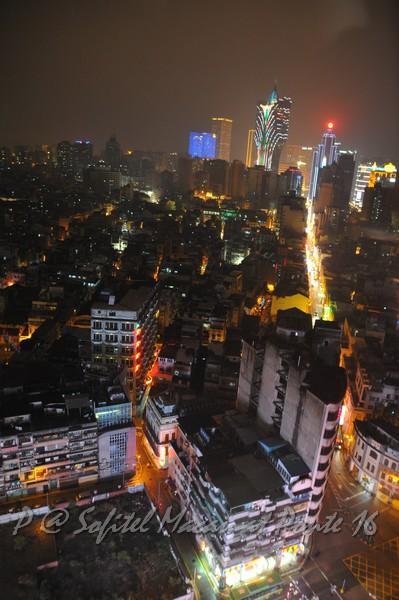 索菲特十六浦酒店 -- 夜景