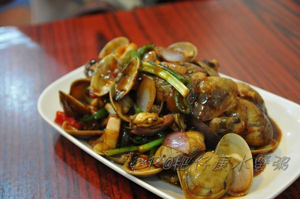 肥仔康水蟹粥 - 豉椒炒花蛤